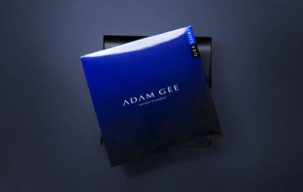 APOGEUM ADAM GEE logotyp opakowanie