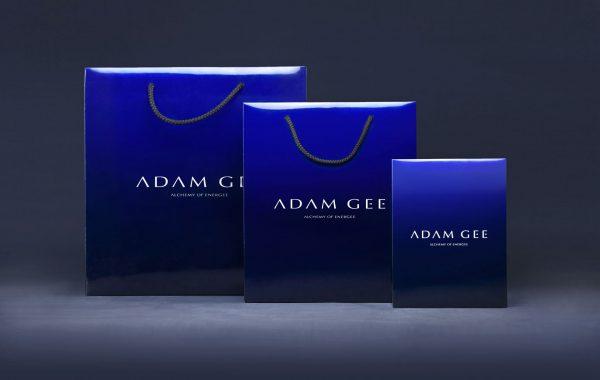 APOGEUM ADAM GEE koncepca marki logotyp