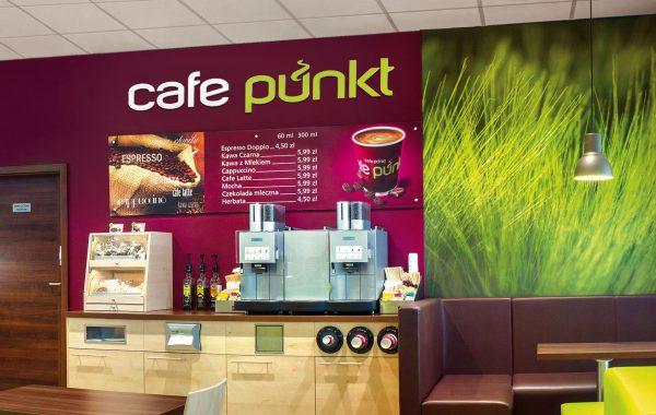 APOGEUM - CAFE PUNKT koncepcja marki na sciane