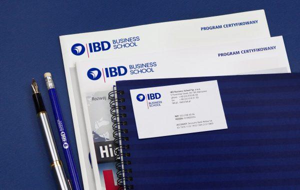APOGEUM IBD znak firmowy na wydawnictwach