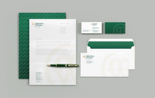 APOGEUM projektowanie marki dla Mennicy papeteria